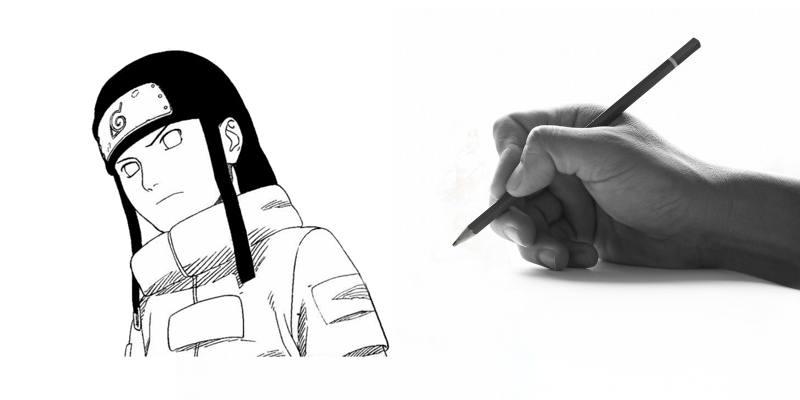 Impara a disegnare Neji Hyuha