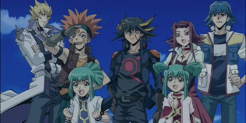 Streaming Yu-Gi-Oh! 5D's